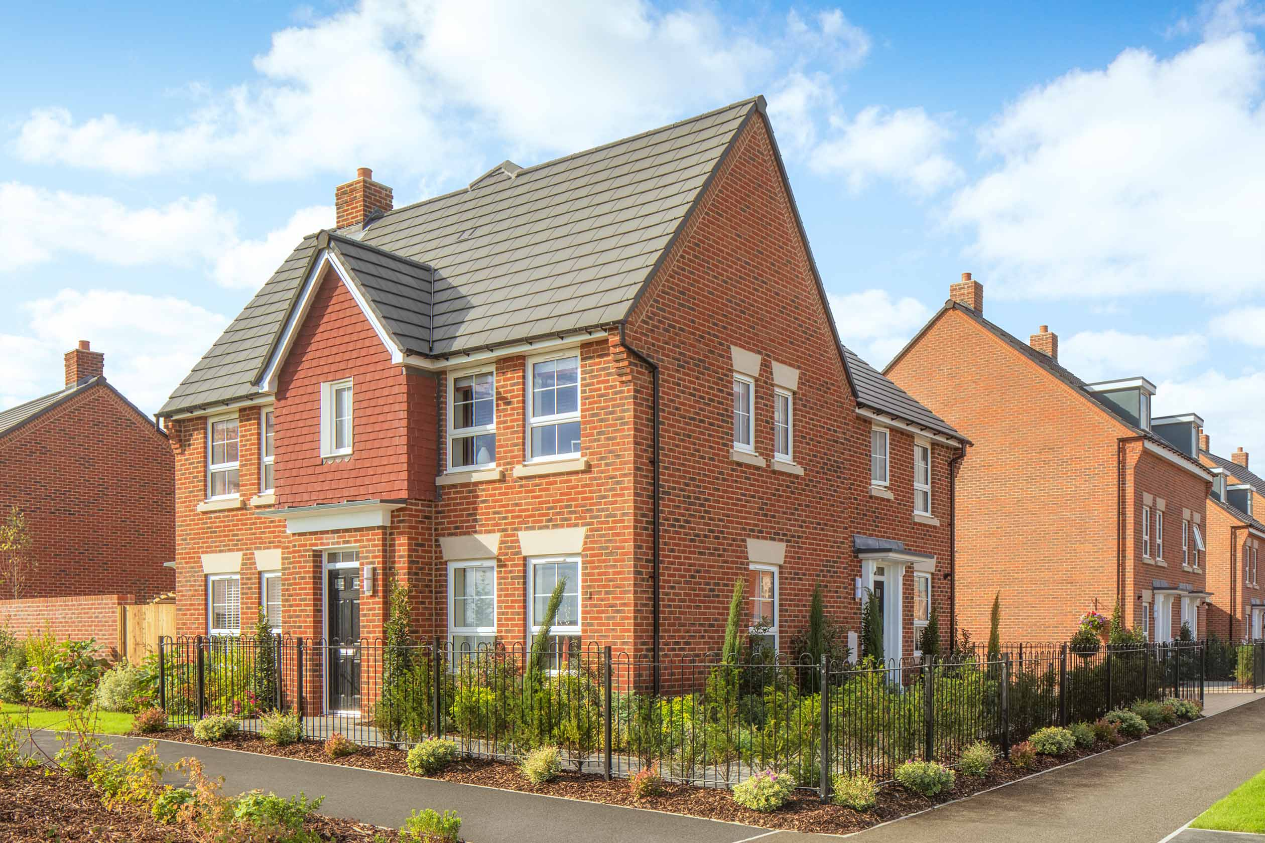 External Morpeth show home, Orchard Green, Kingsbrook, Aylesbury