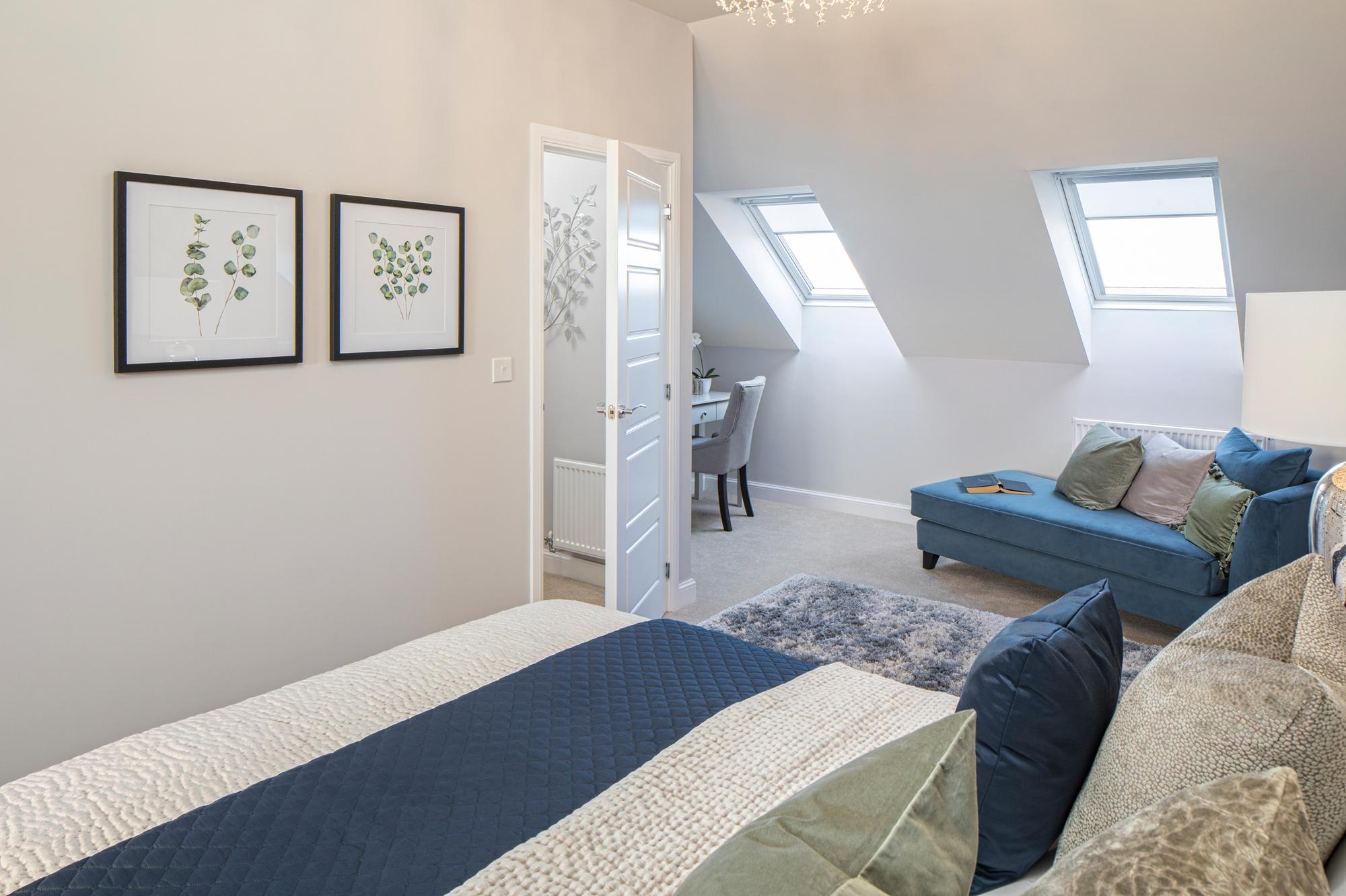 Norbury master bedroom