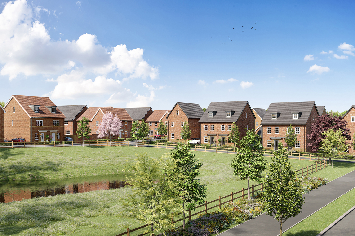 Barratt Homes @Mickleover