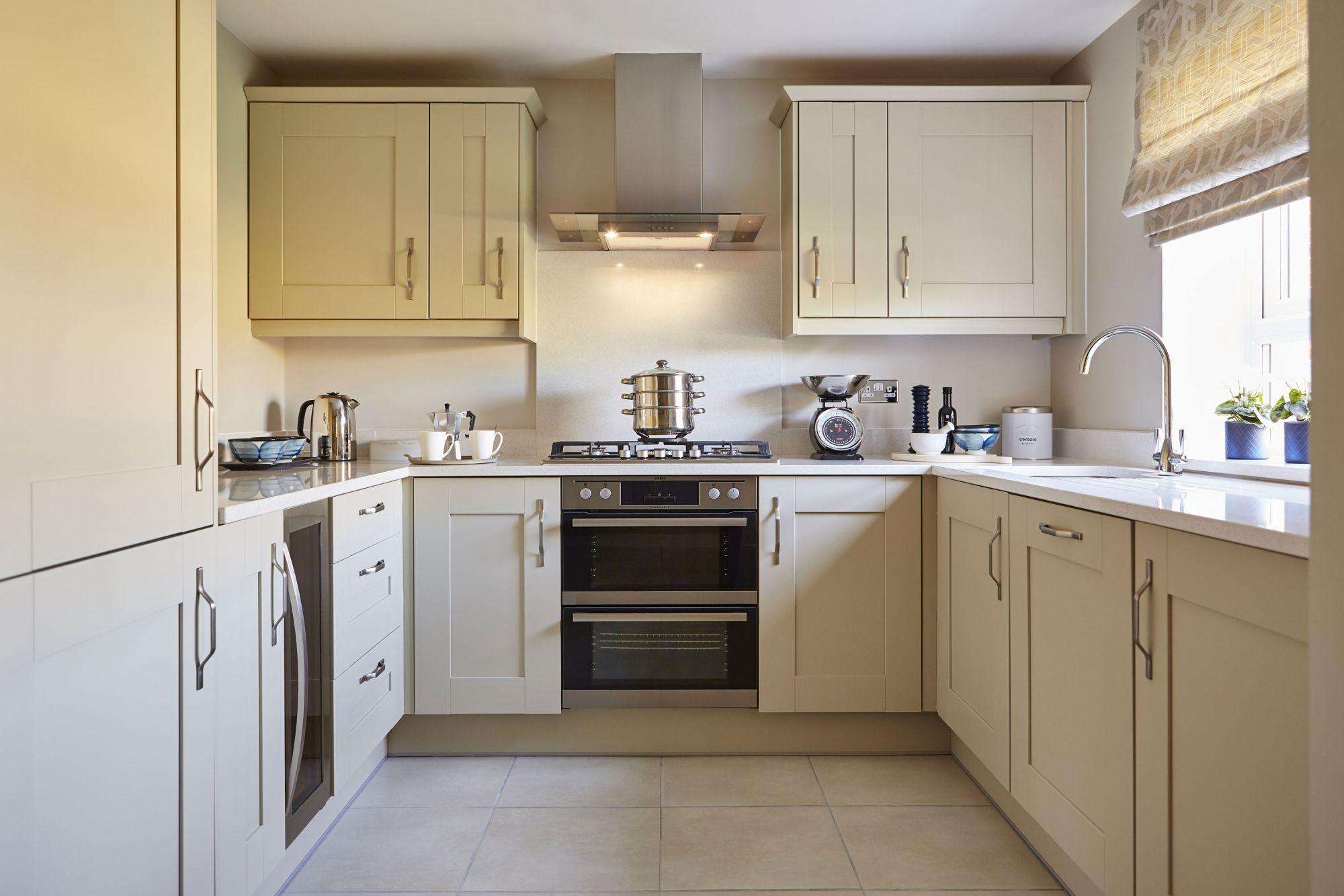 Typical Somerfield fitted kitchen
