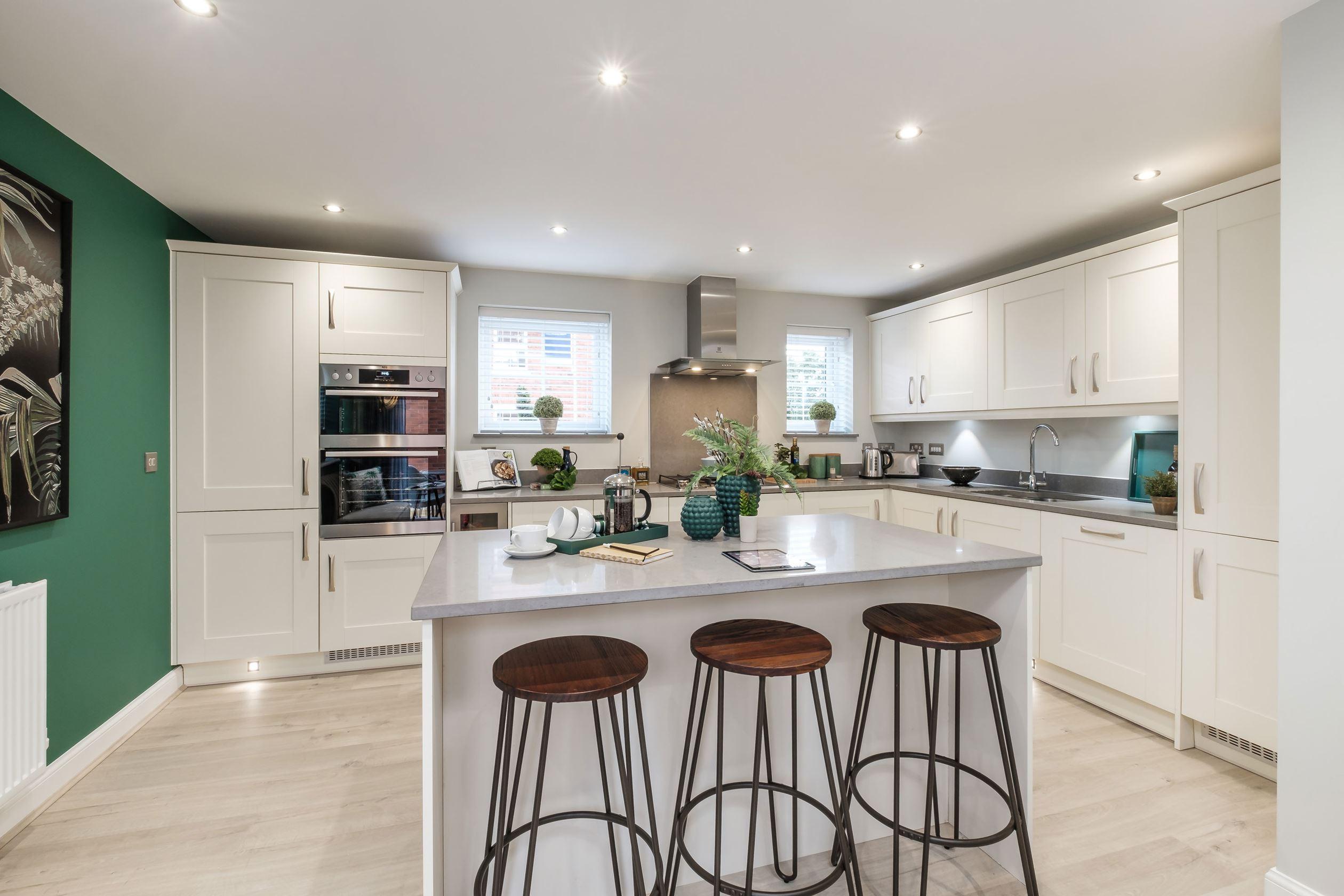 Dunstall Park New Homes In Tamworth Staffordshire