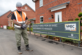 NHBC Pride in the job award - Ian - Dunstall Park