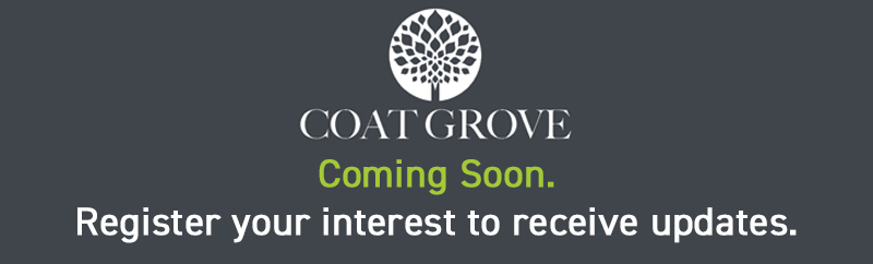 Coat Grove, Coming soon. Register your interest to receive updates.
