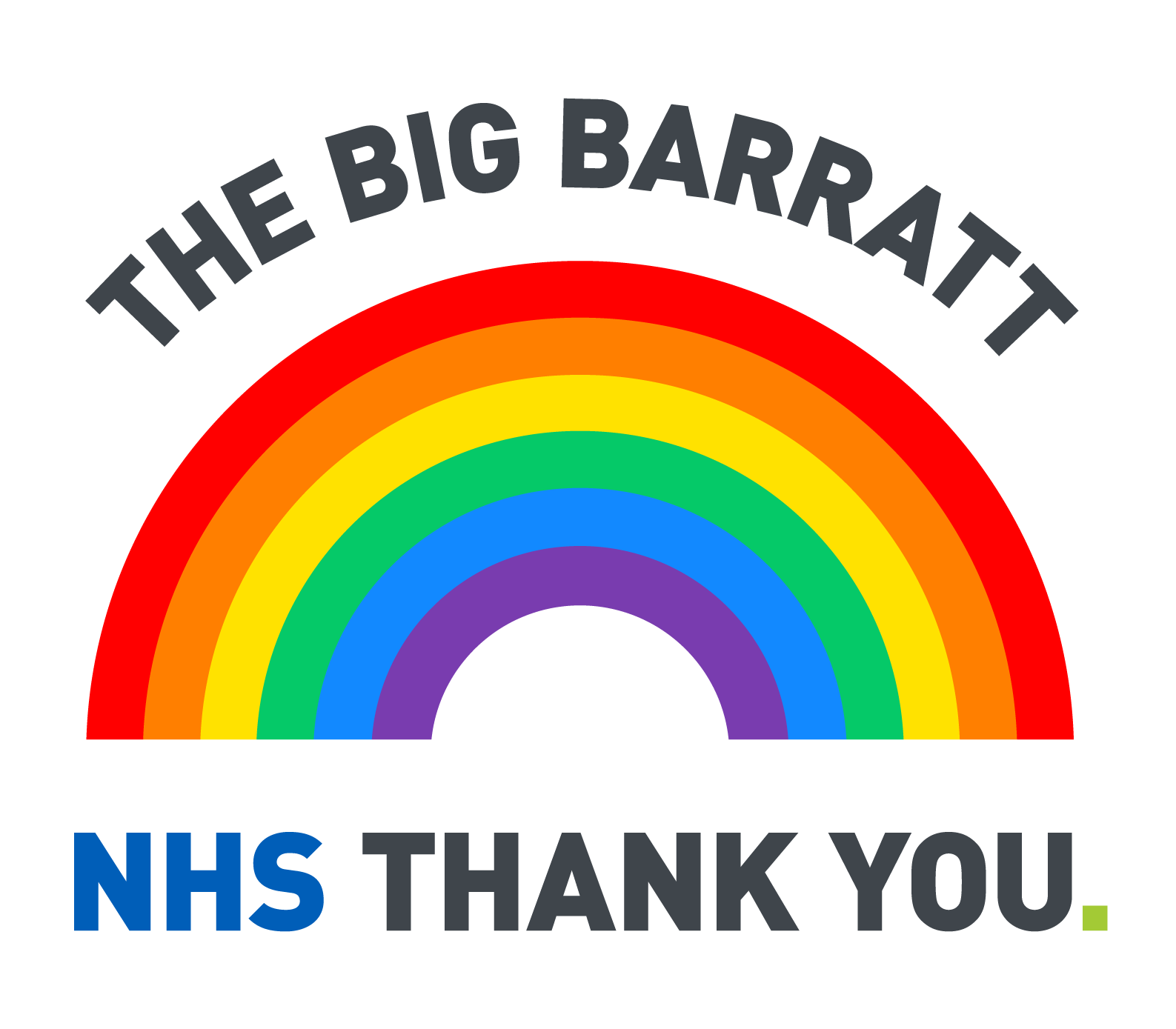 The Big Barratt NHS Thank You