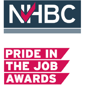 NHBC Pride in the job award logo