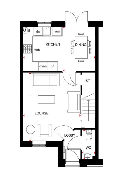 The Palmerston Barratt Homes