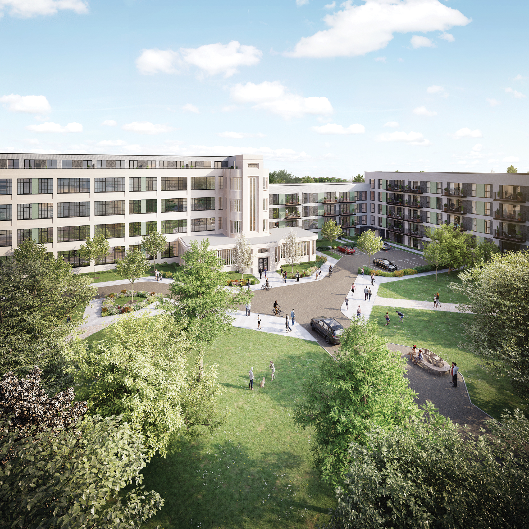 Hayes Village New Homes In Hayes Middlesex Barratt Homes