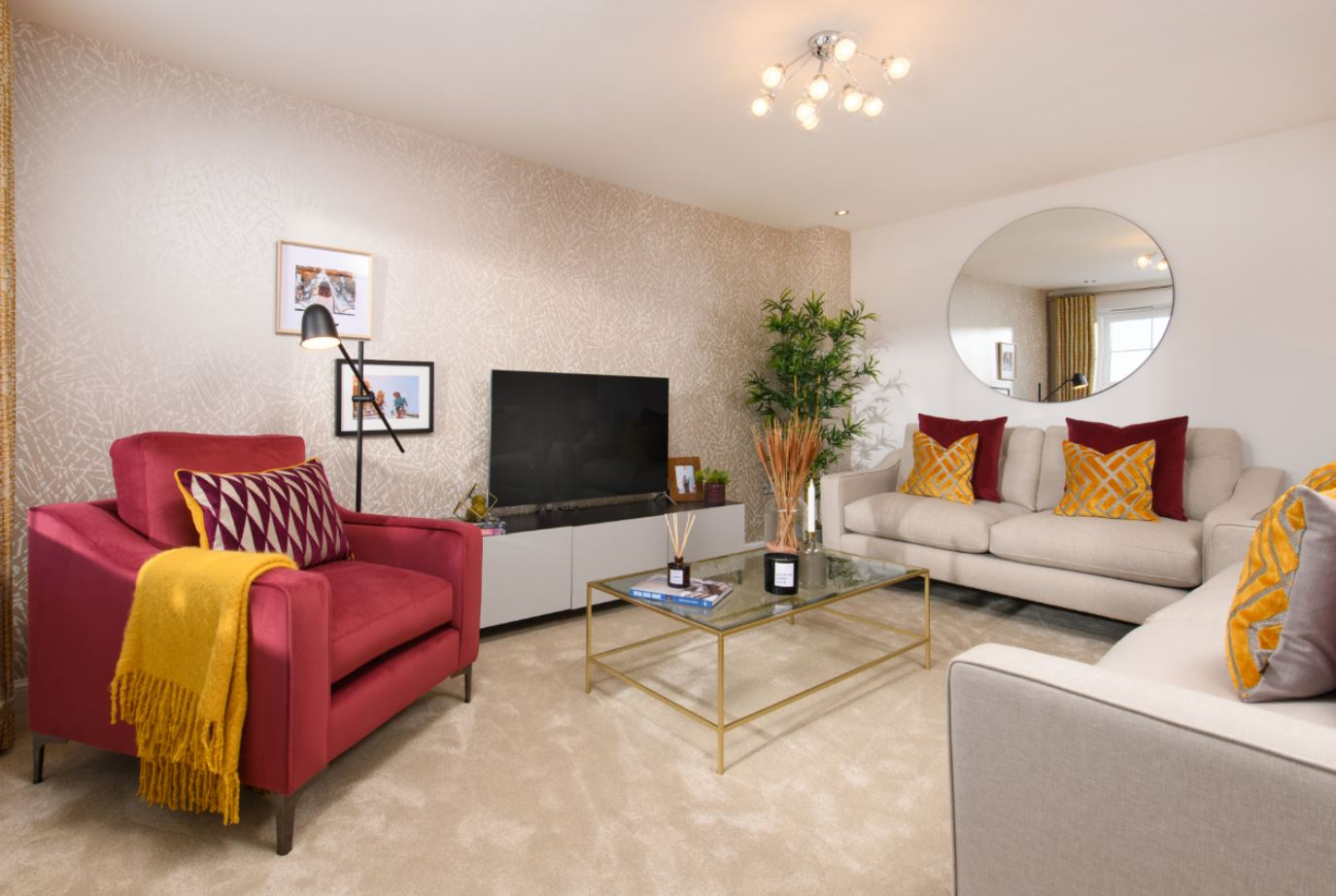 Lounge of Kingsley Show Home