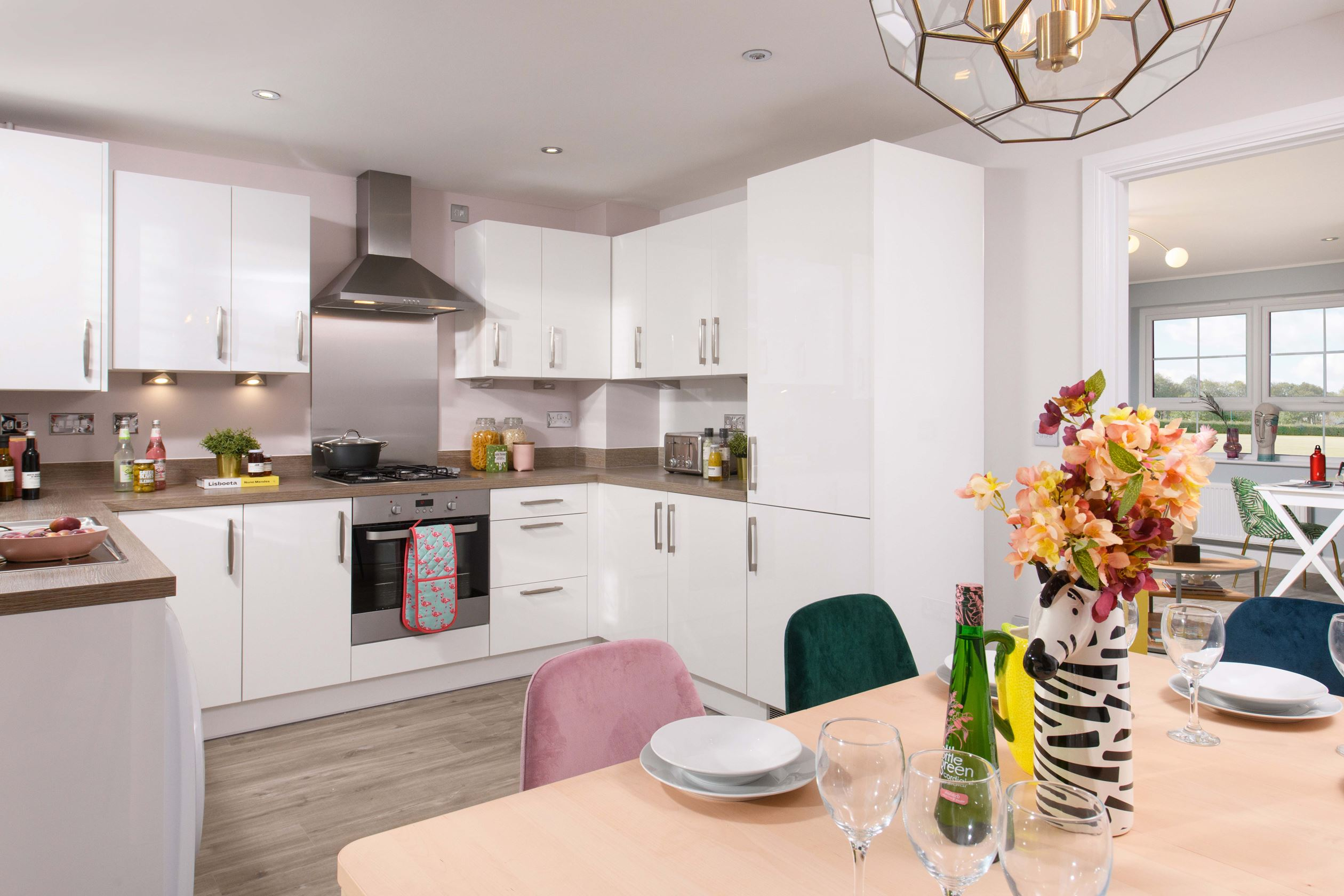 Kitchen diner in the Maidstone 3 bedroom Show Home