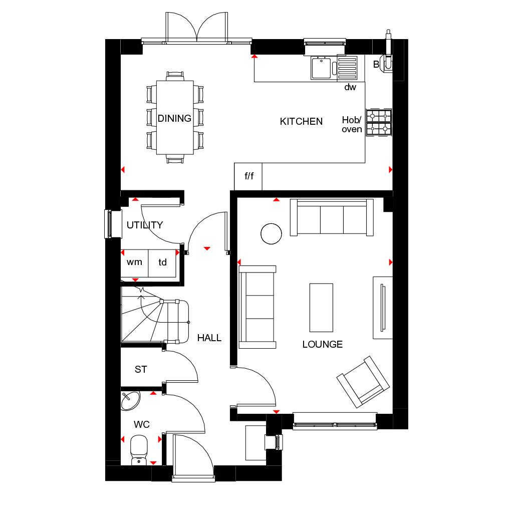 The Kingsley Barratt Homes