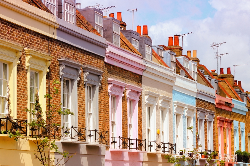new homes in camden town colorful houses