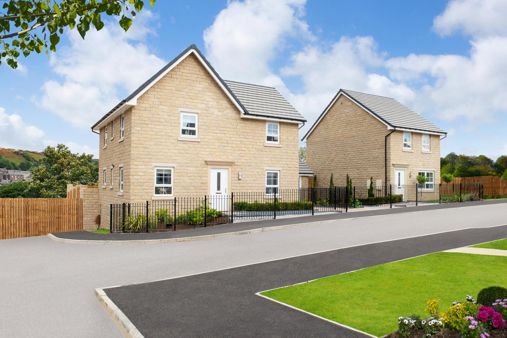New Build Homes in Clayton