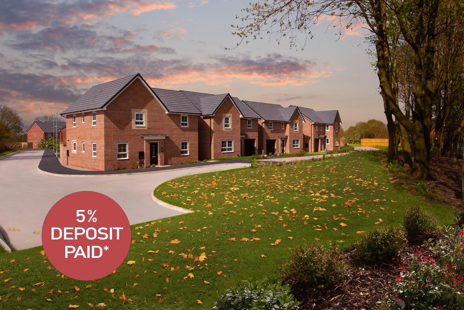 New Build Homes in Fulwood