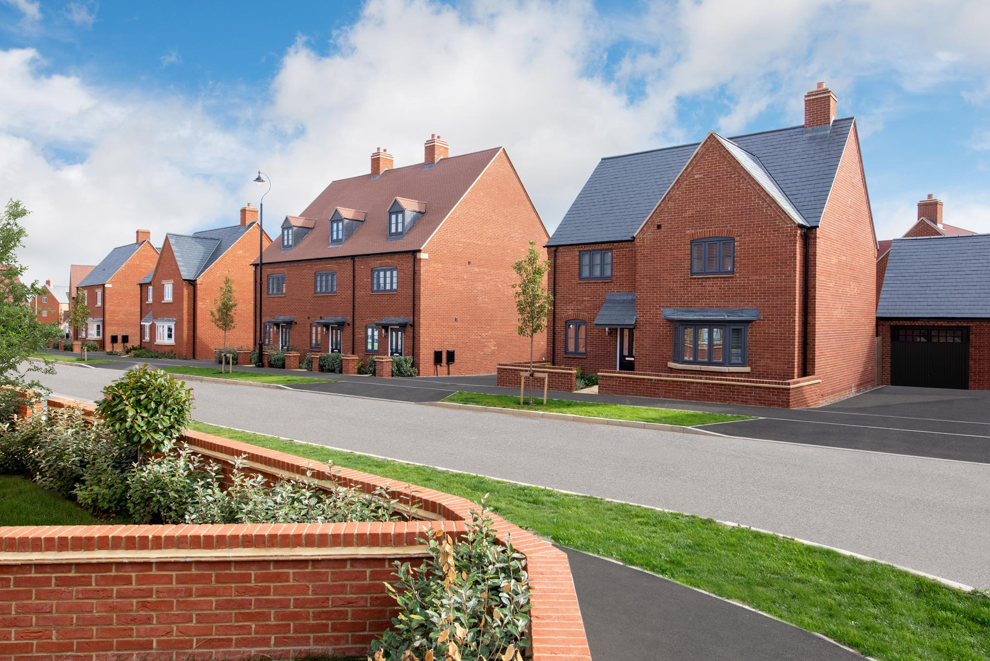 New Build Homes in Halse Road