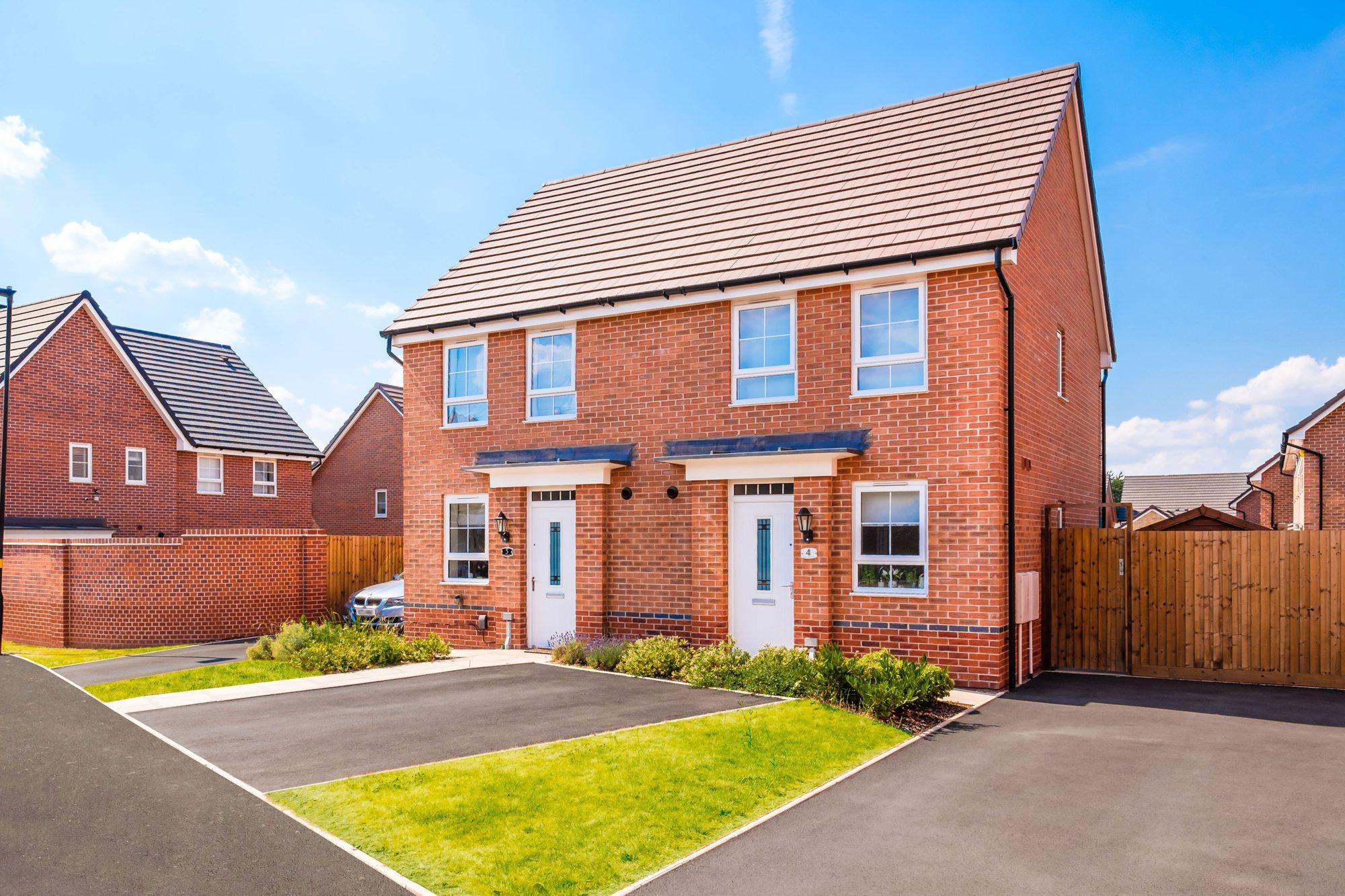 New Build Homes in Wednesbury