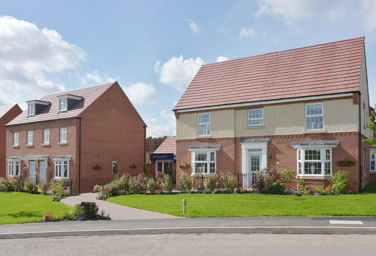 New Build Homes in Burton-On-Trent