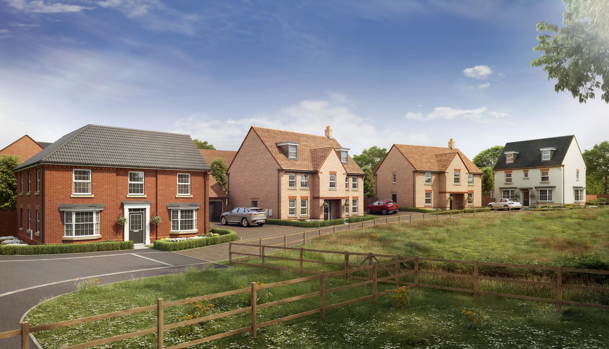 New Build Homes in Harlestone
