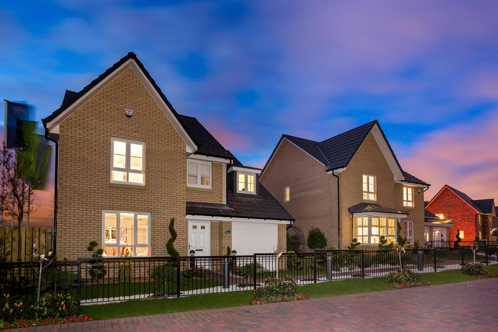 New Build Homes in Cambuslang