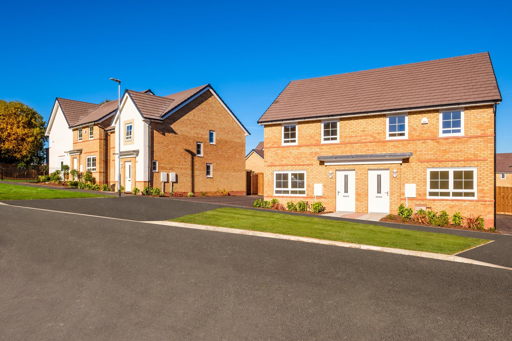 New Build Homes in Hanley