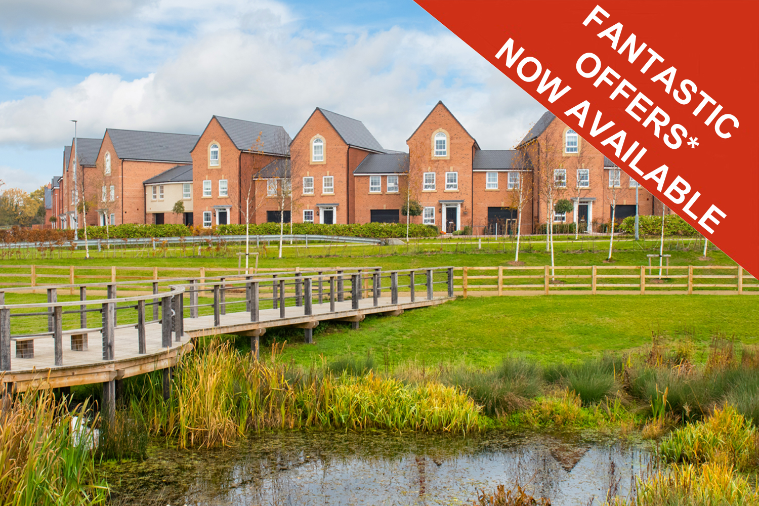 New Build Homes in New Lubbesthorpe