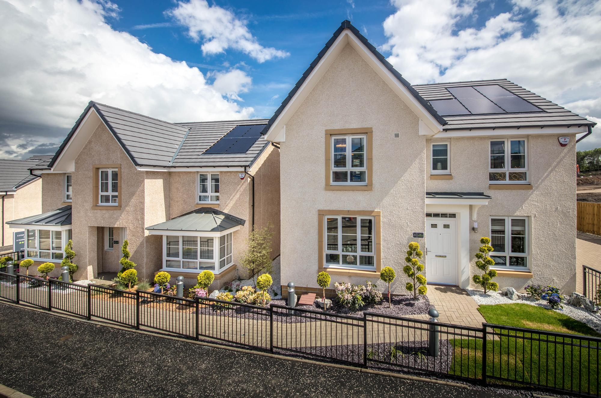 New Build Homes in Robroyston