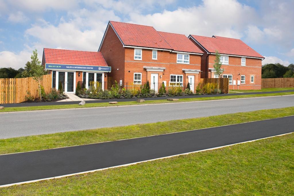 New Build Homes in Consett