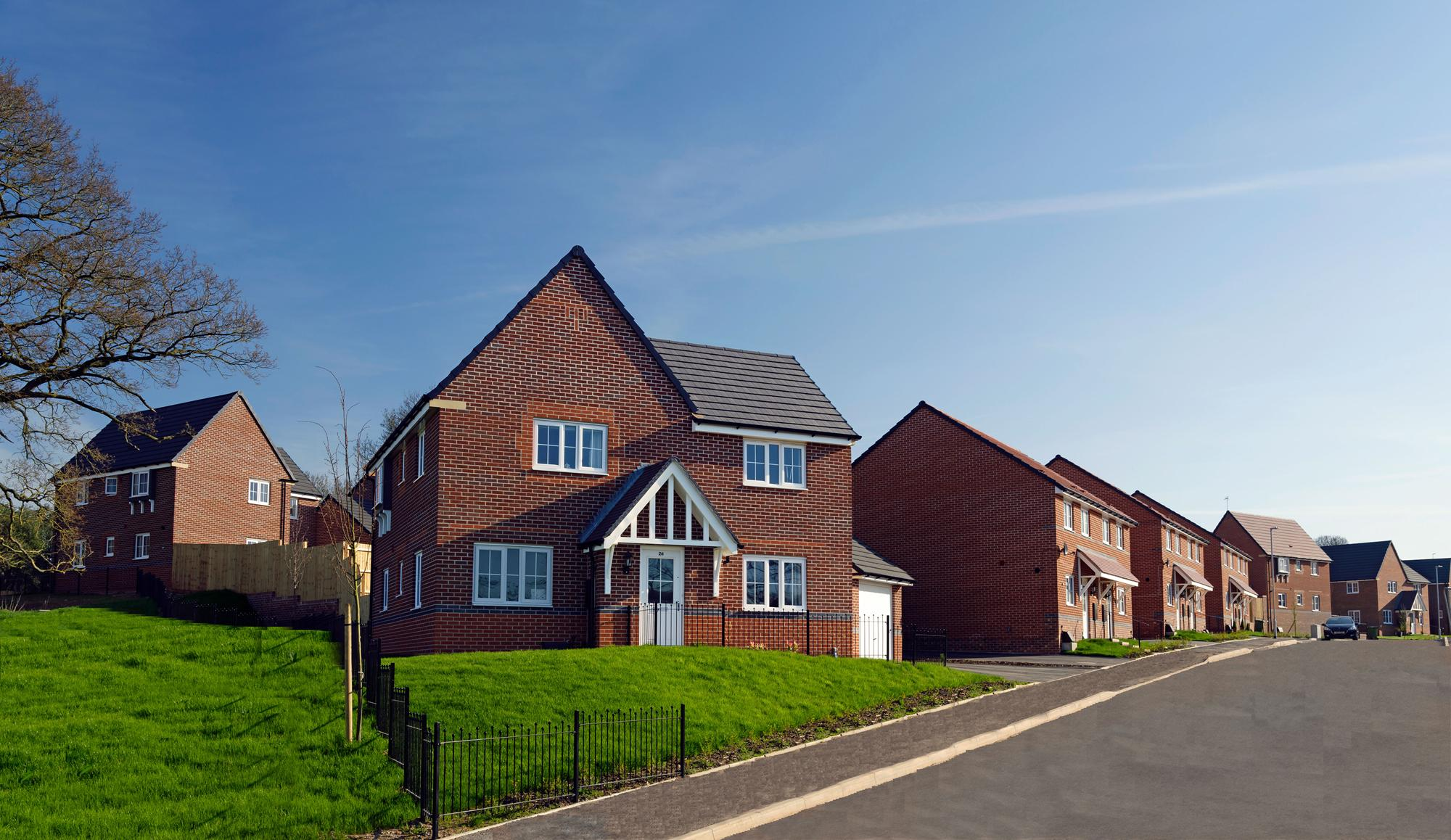 New Build Homes in Webheath