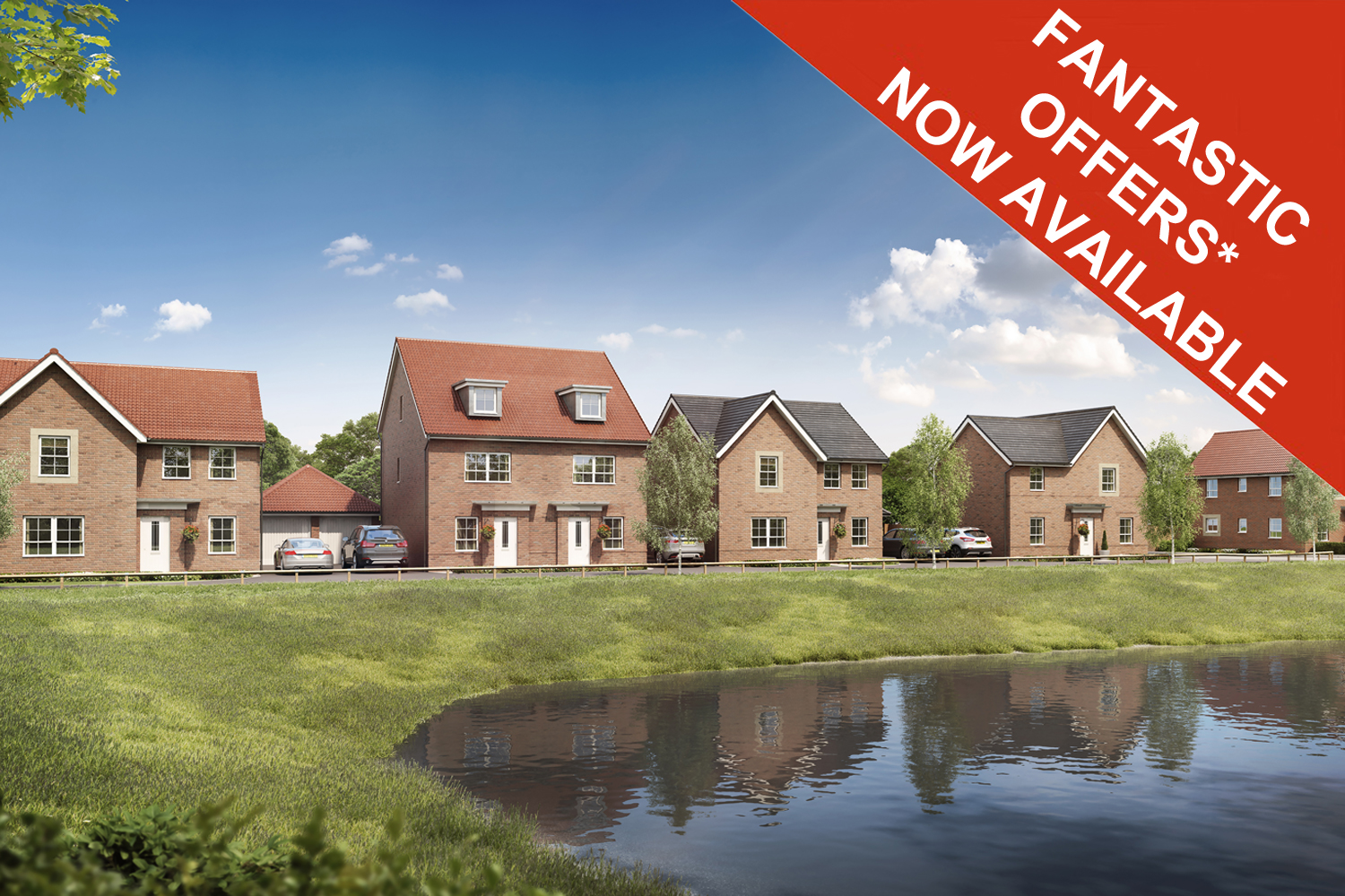 New Build Homes in Wigston