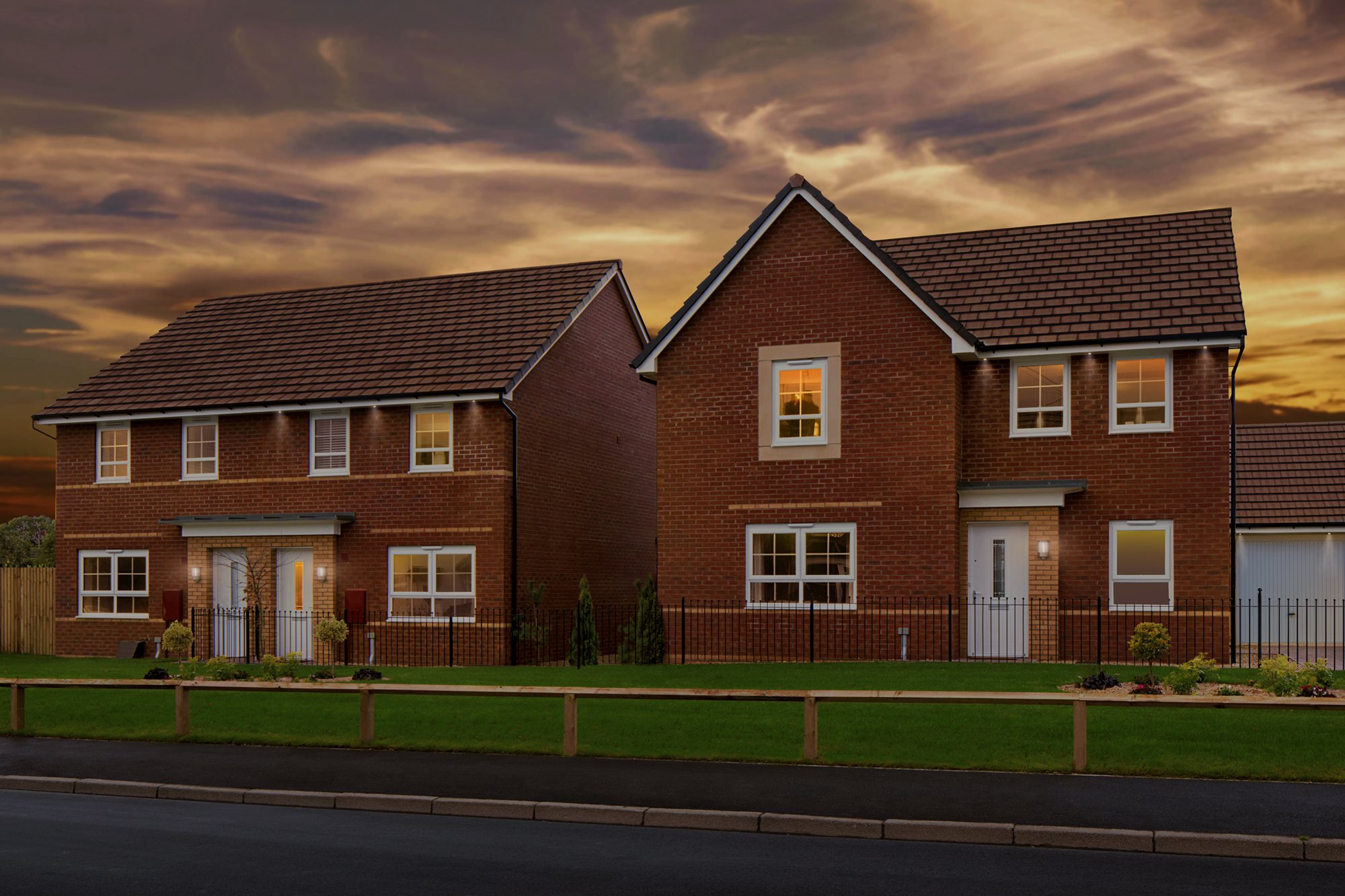 New Build Homes in Llantarnam