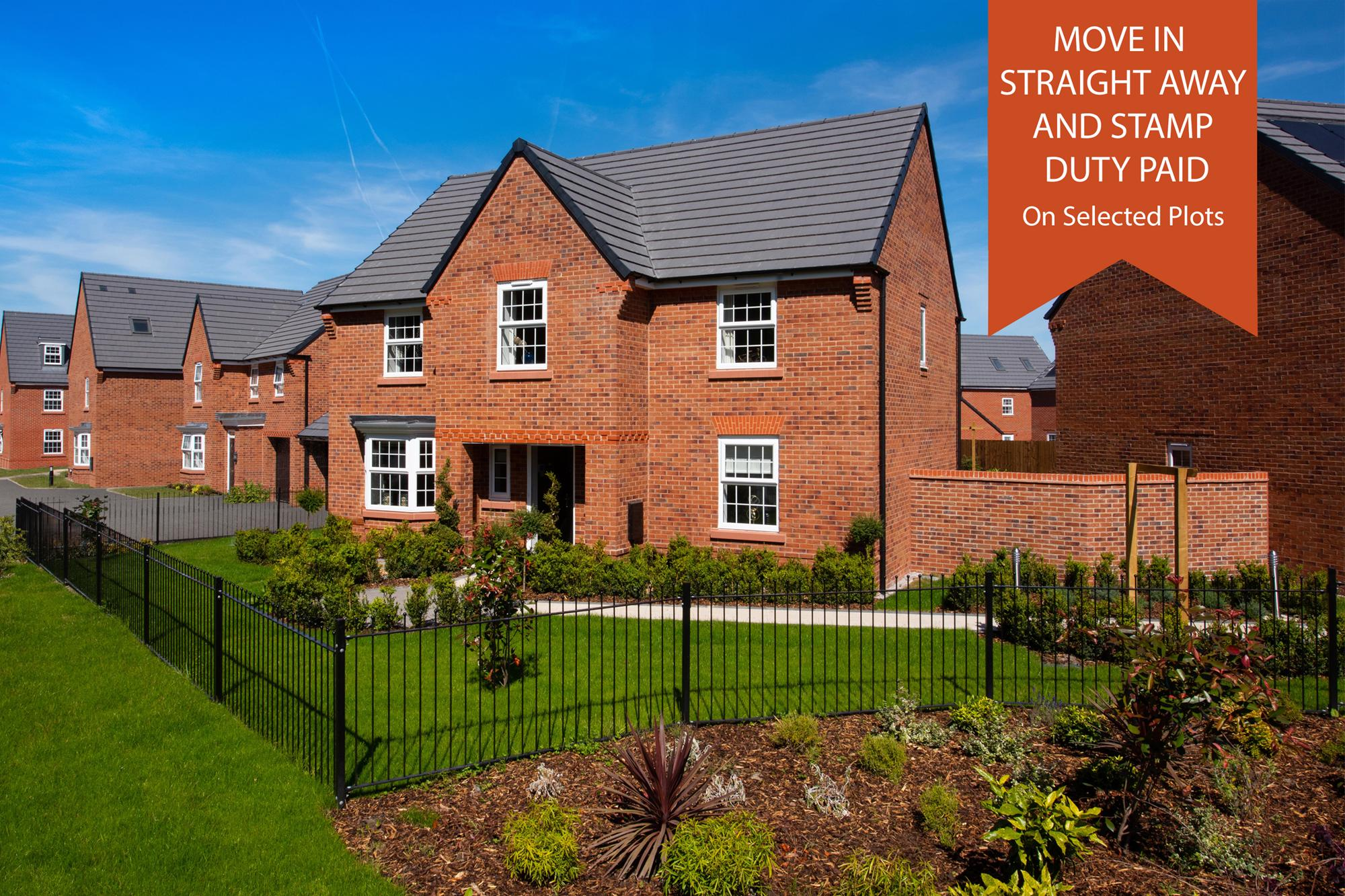 New Build Homes in Preston