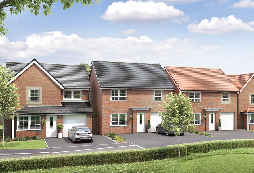 New Build Homes in Pegswood