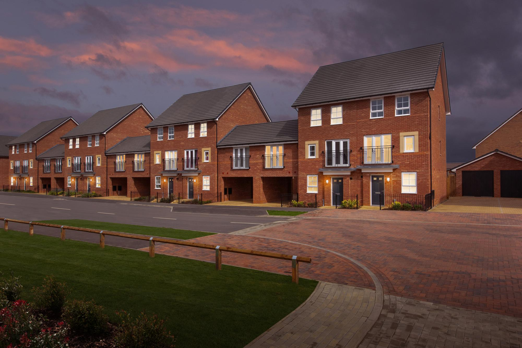 New Build Homes in Fairfields