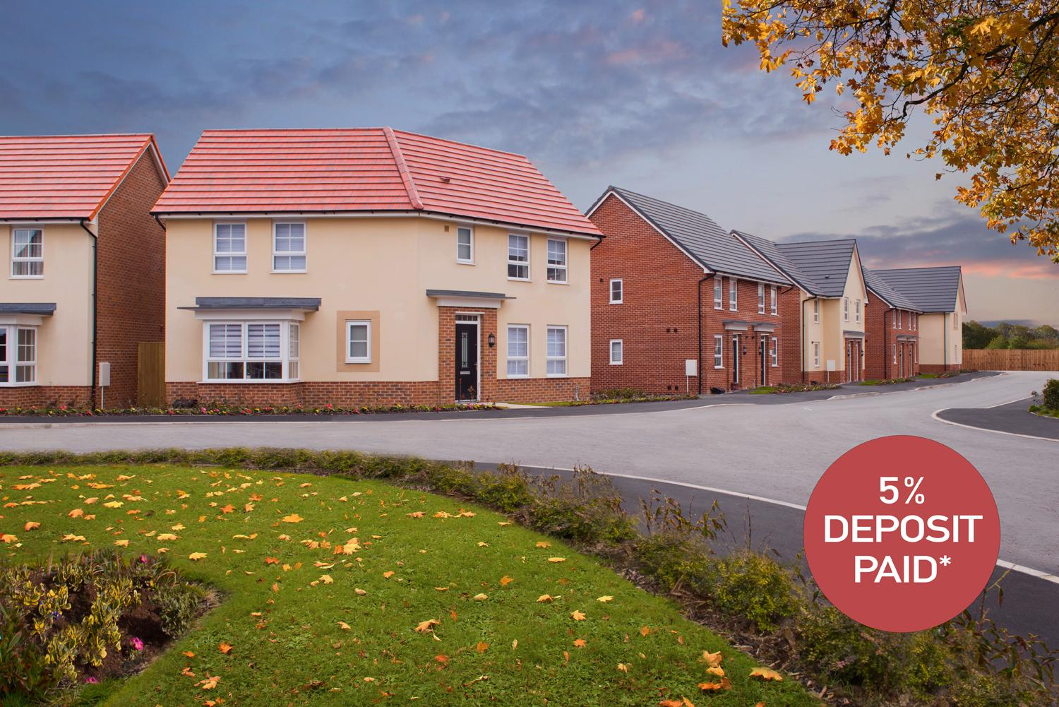 New Build Homes in Thornton-Cleveleys