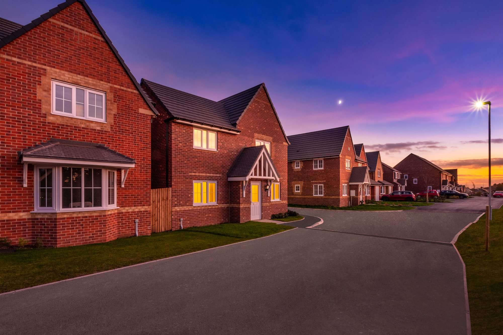 New Build Homes in Cannock
