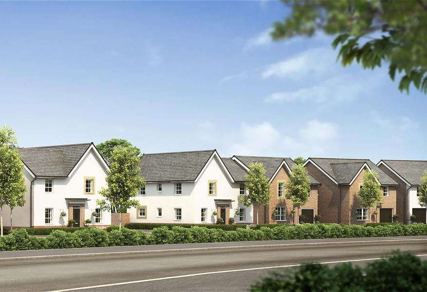 New Build Homes in Stretton