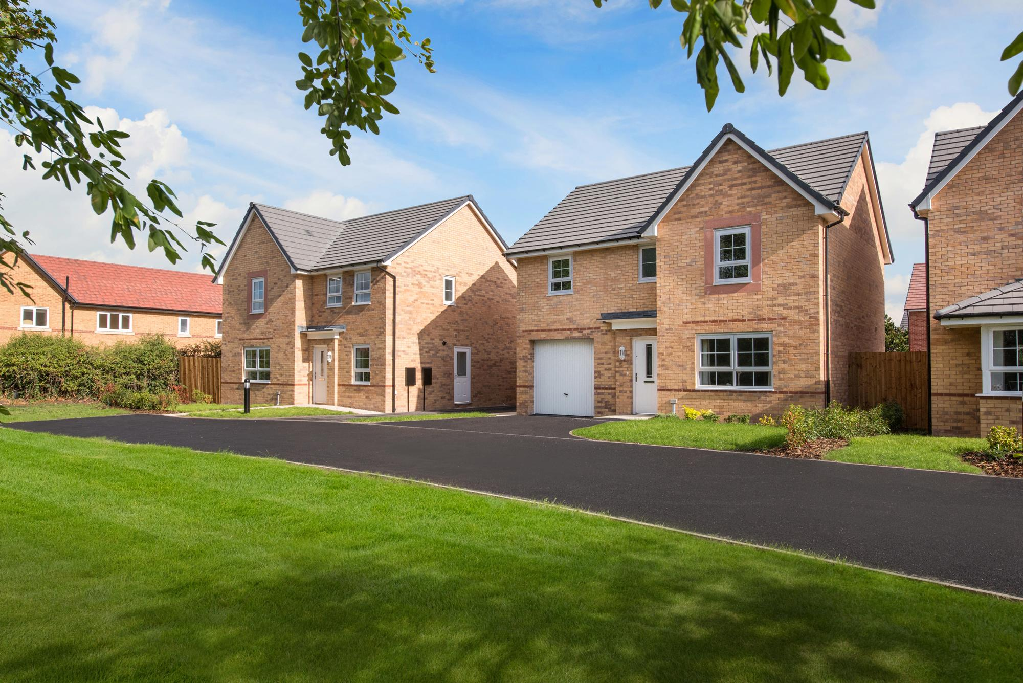 New Build Homes in Alsager