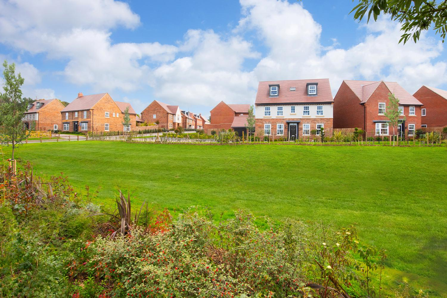 New Build Homes in Newton Solney