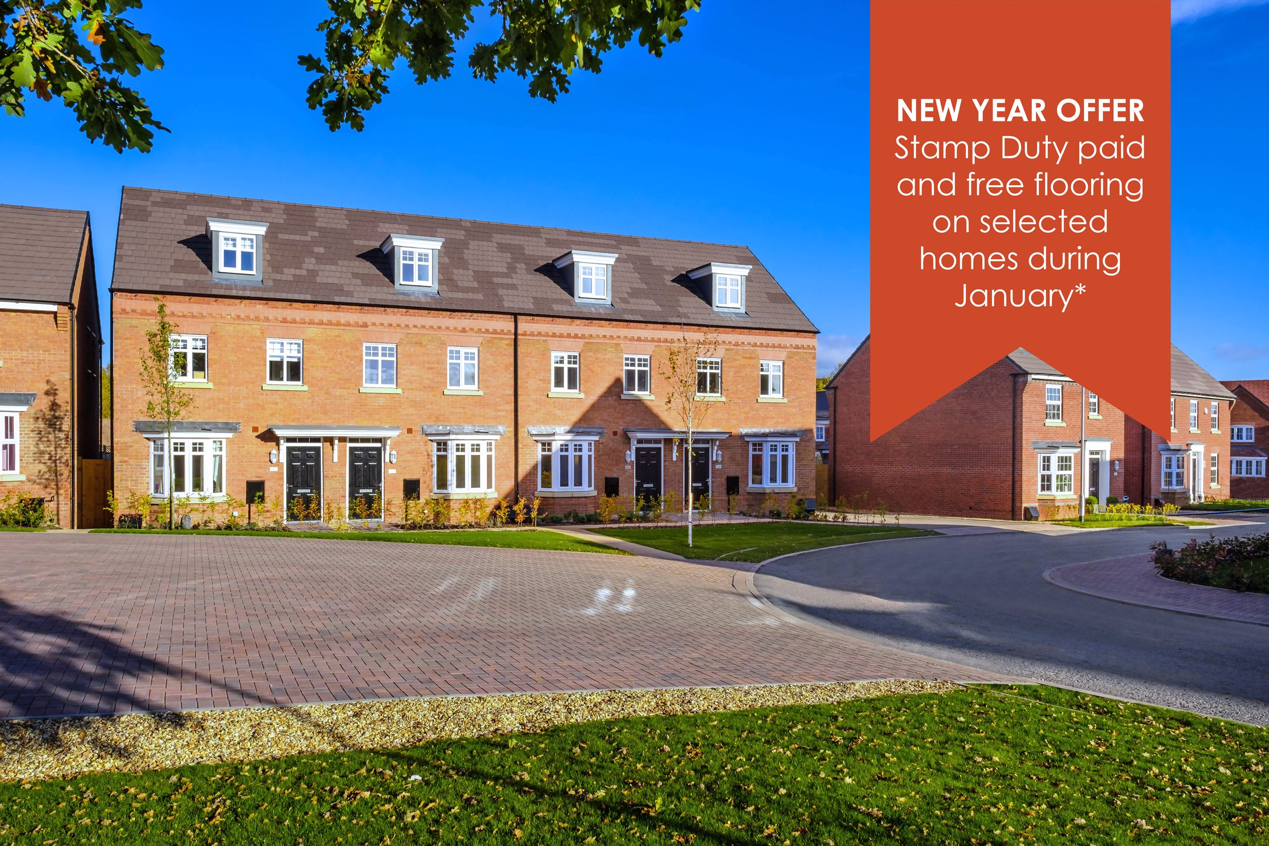 New Build Homes in Stafford
