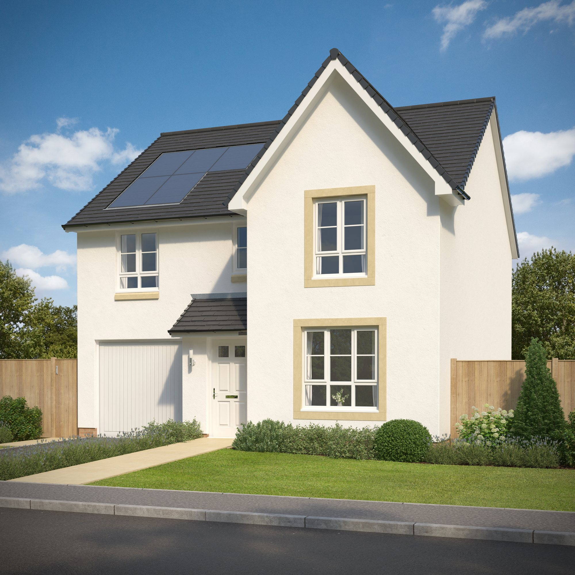 New Build Homes in Livingston