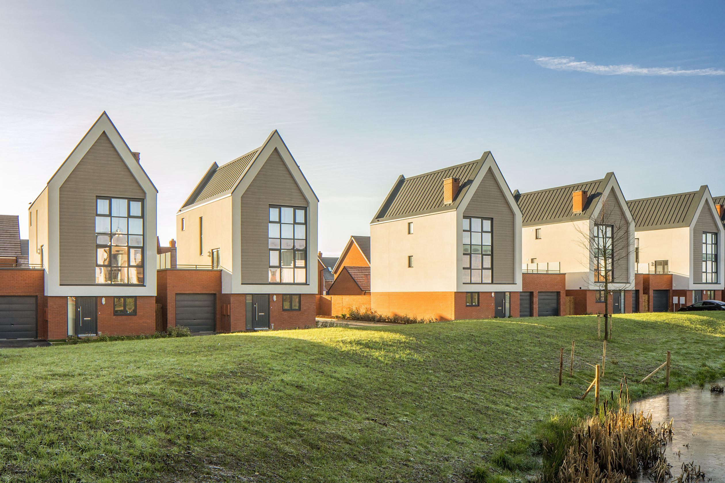 New Build Homes in Tadpole Garden Village