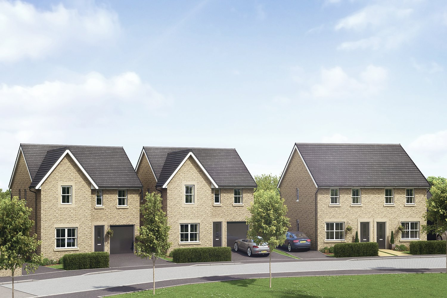 New Build Homes in Buxton