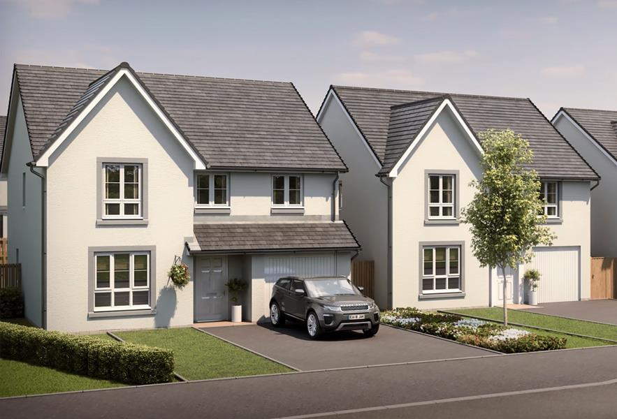 New Build Homes in Monifieth