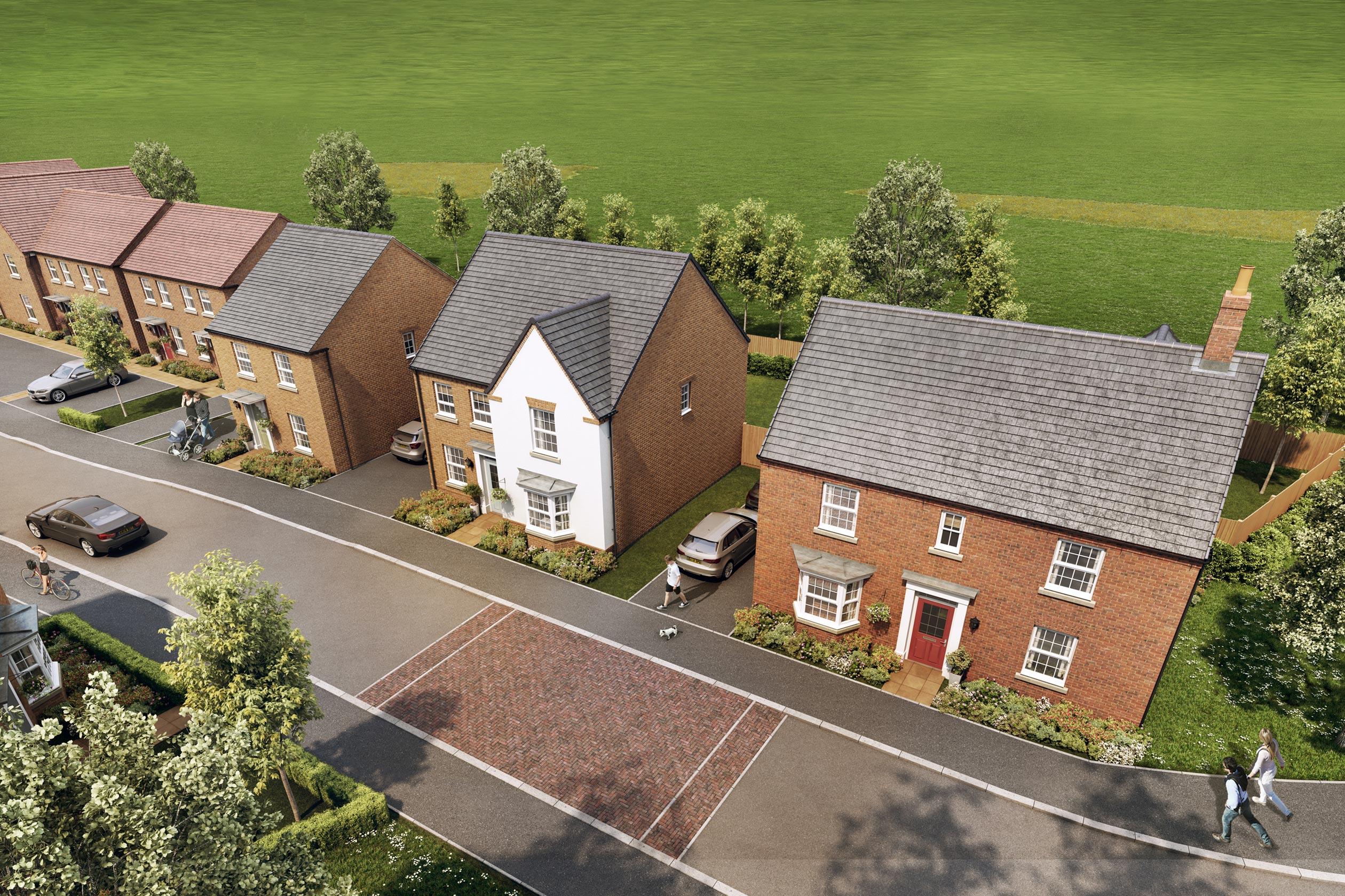 New Build Homes in Kibworth