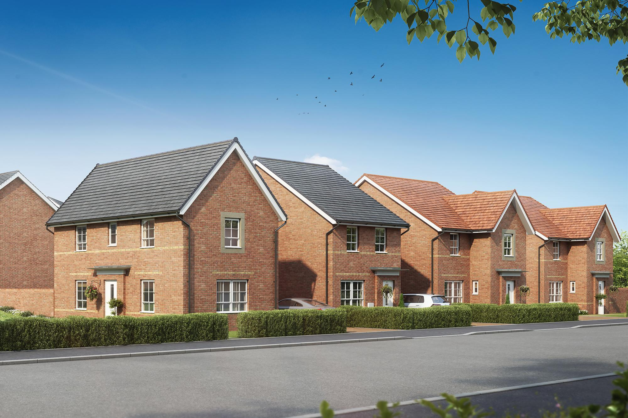 New Build Homes in Hamworthy