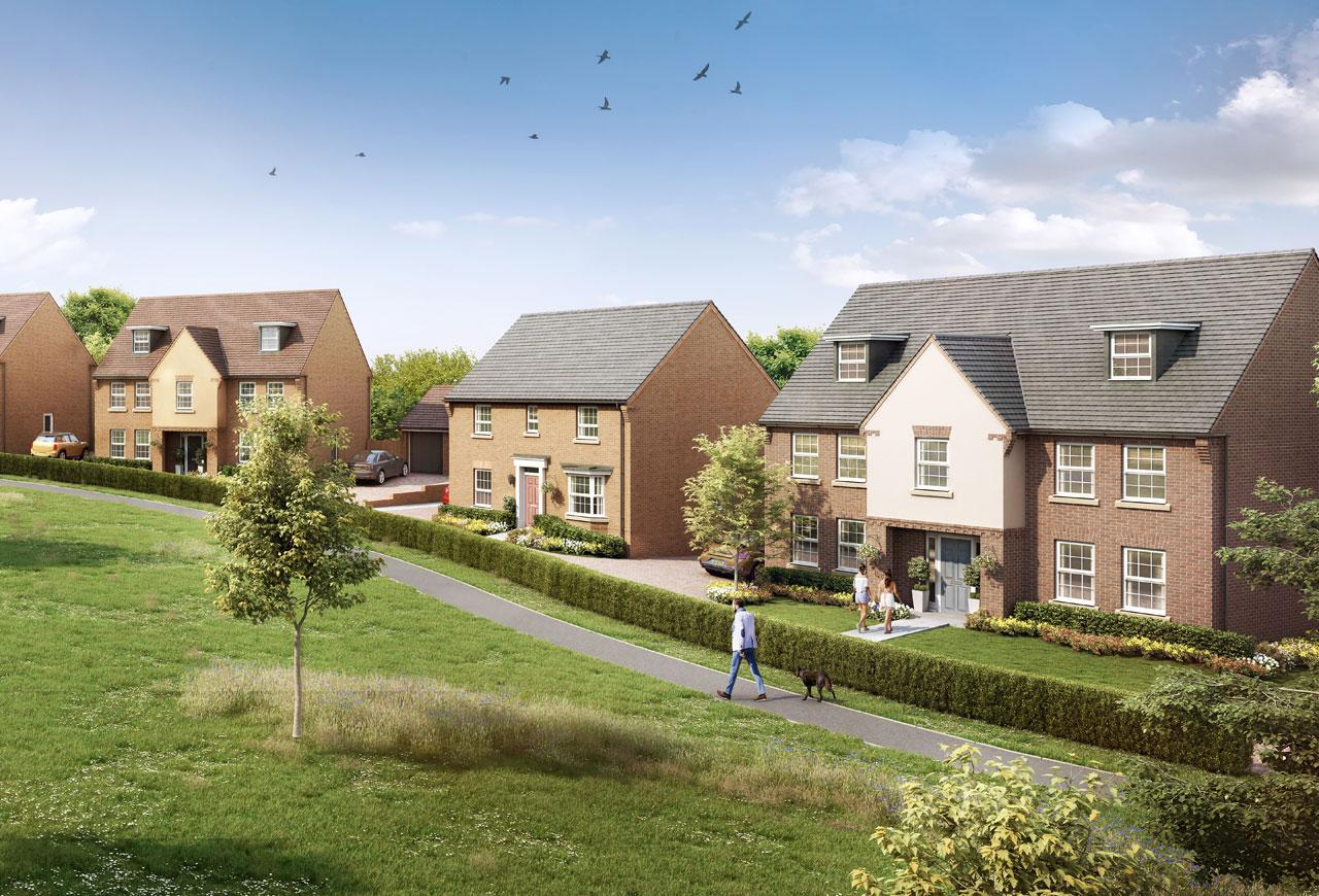 New Build Homes in Mickleover