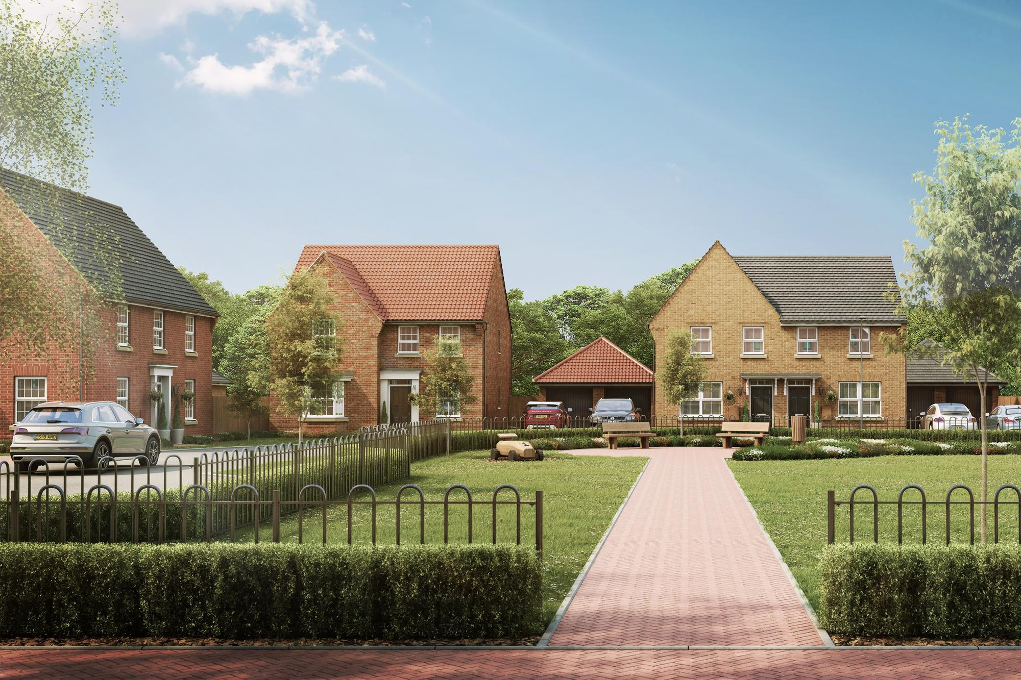 New Build Homes in Horsford