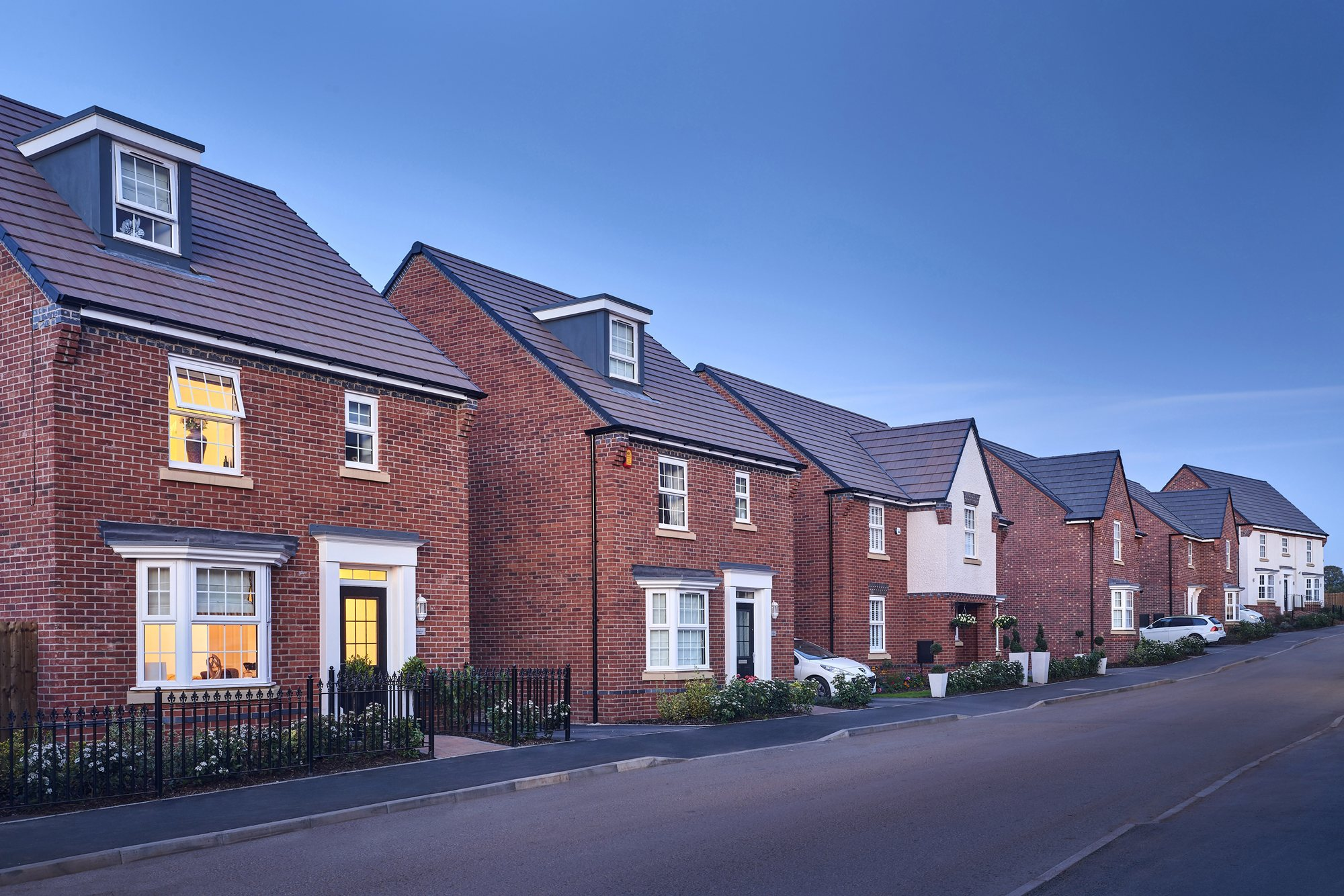 New Build Homes in Bromsgrove