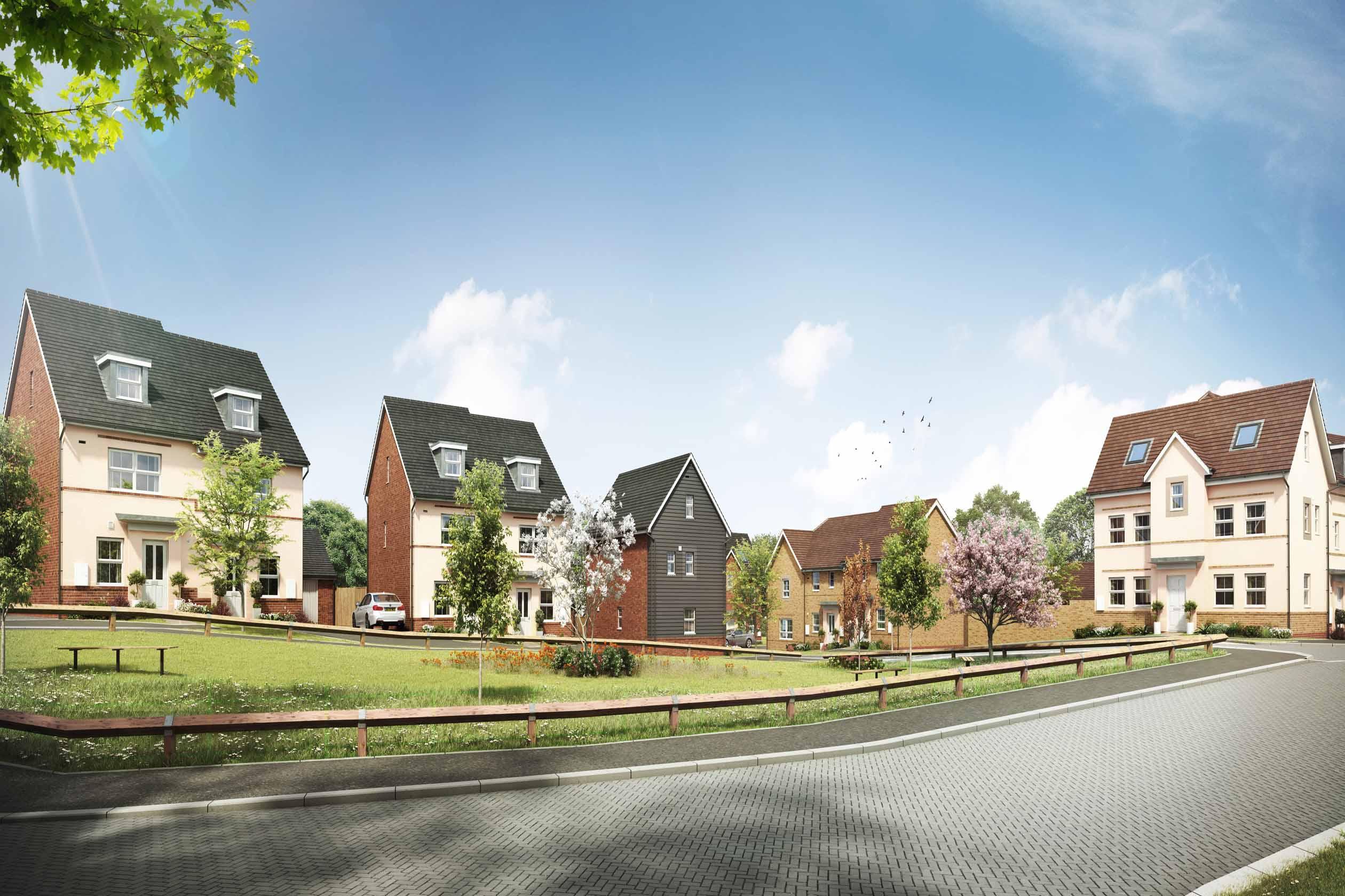 New Build Homes in Leighton Buzzard