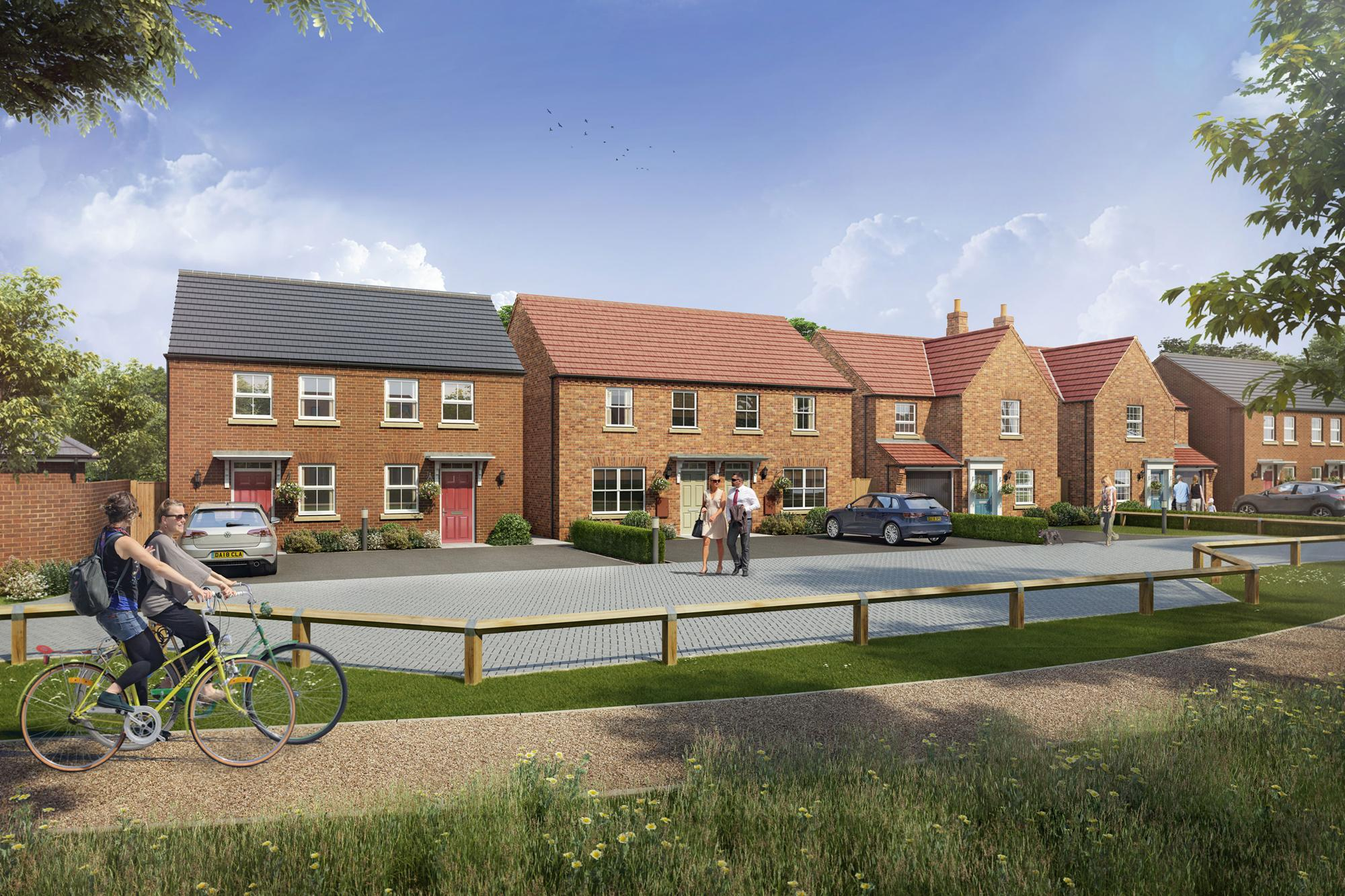 New Build Homes in Fleckney
