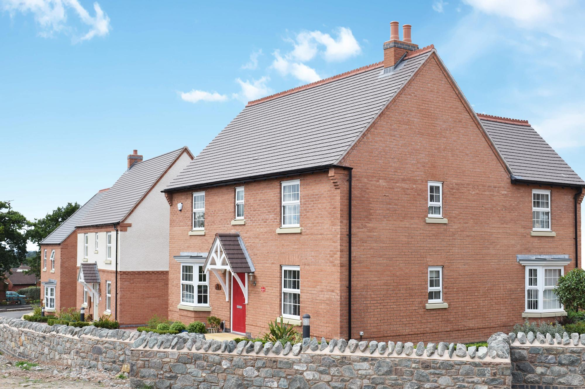 New Build Homes in Coalville